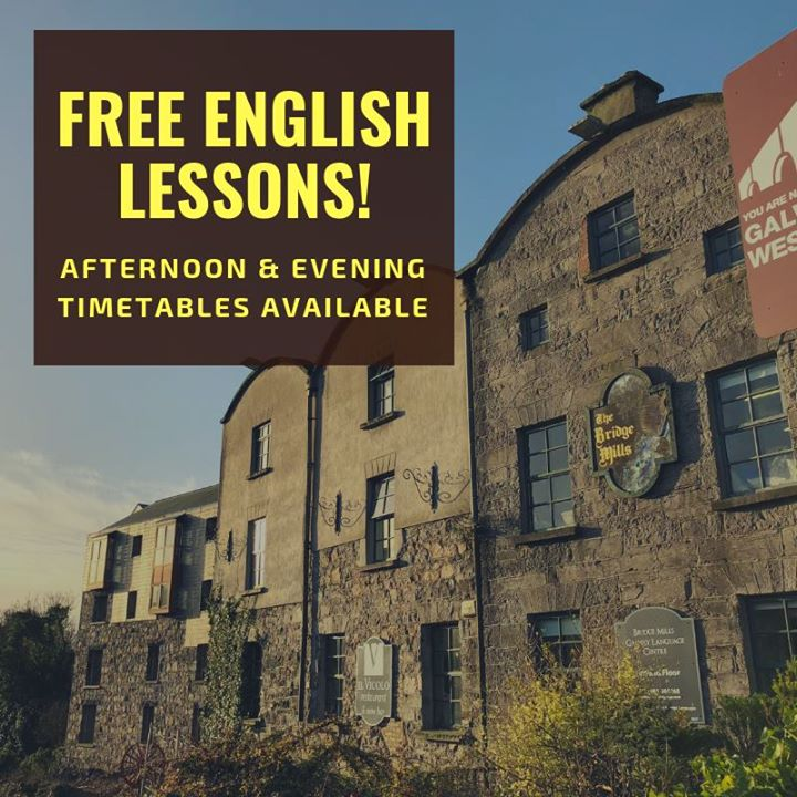 Free afternoon and evening English lessons available on Wednesday 14th November at 13.45 and 18.30. Three levels are on offer - Pre - Intermediate, Intermediate & Upper Intermediate! Take advantage of them and join for free!!! Spread the word and share this post with your friends! (Only upper Intermediate level available in the afternoons)