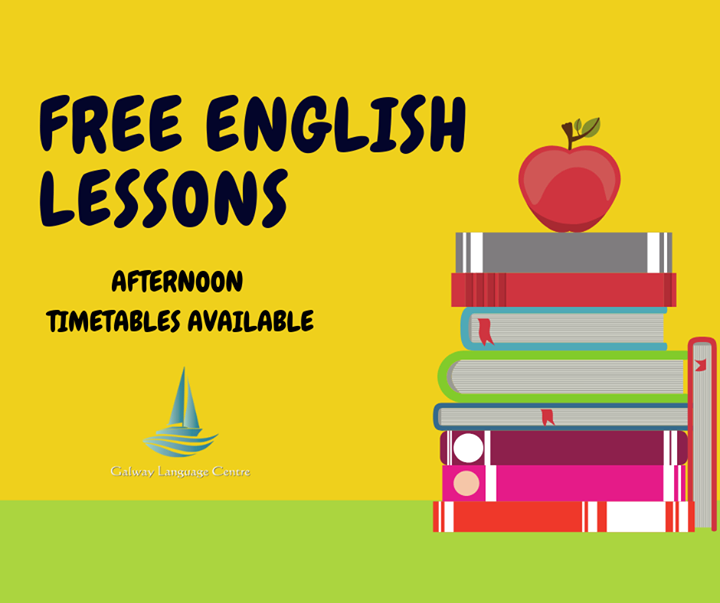 Free afternoon English lessons available on Thursday 17th January @13.30. Take advantage of them and join for free!!! Spread the word and share this post with your friends!